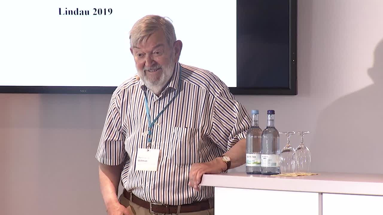 Martinus J. G. Veltman (2019) - The Future of Particle Physics