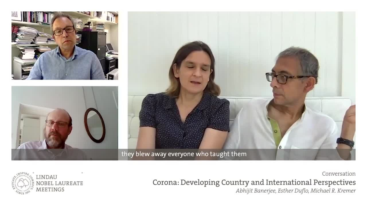 Esther Duflo, Abhijit Banerjee & Michael R. Kremer (2020) - Corona: Developing-Country and International Perspectives