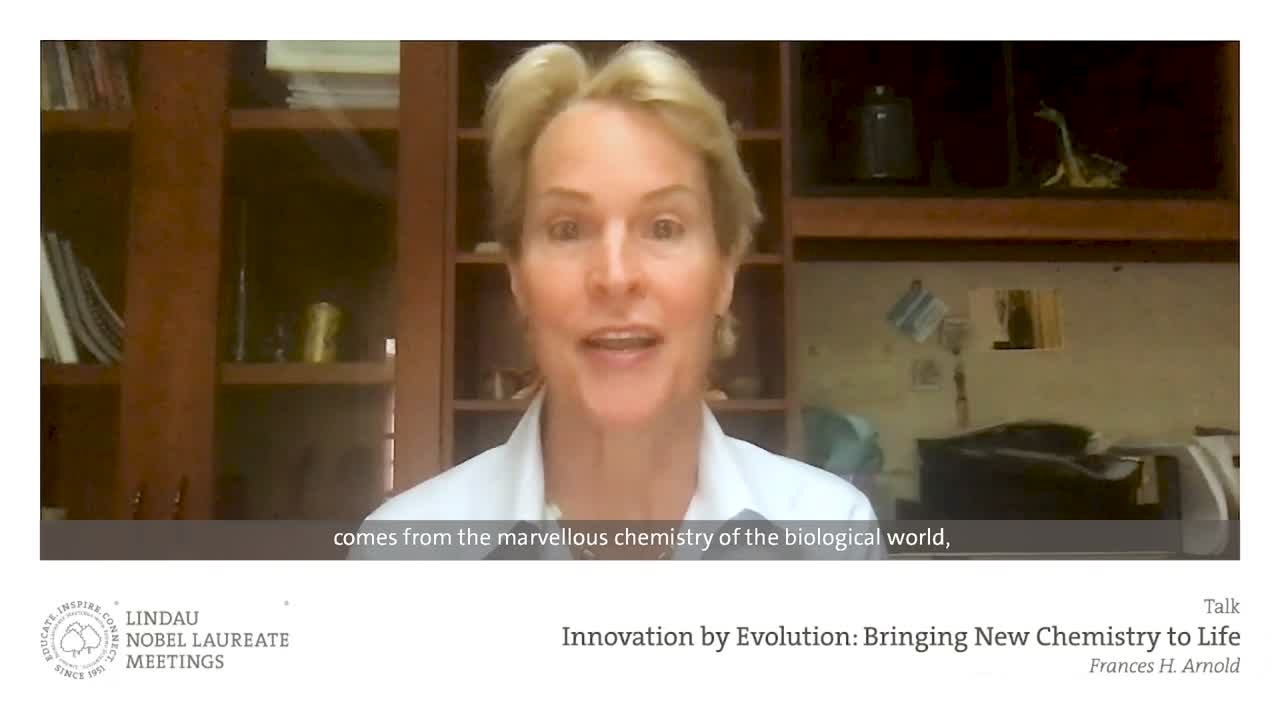 Frances H. Arnold (2020) - Innovation by Evolution: Bringing New Chemistry to Life