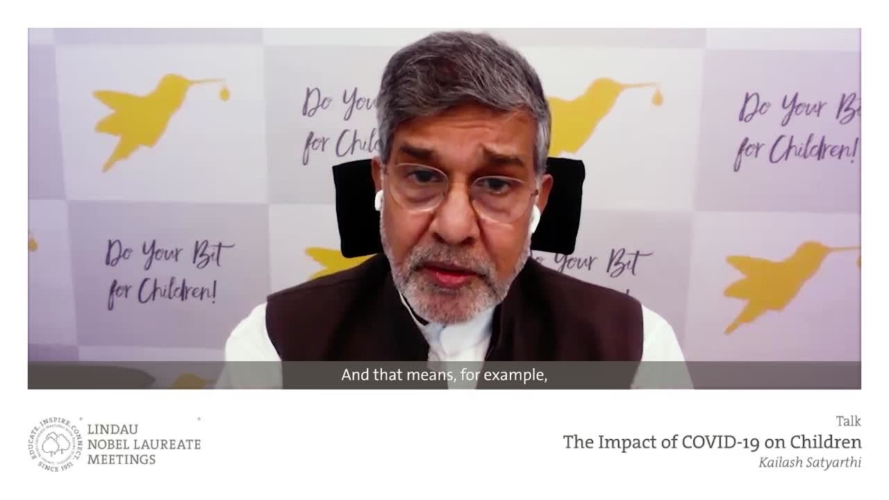 Kailash Satyarthi (2020) - The Impact of COVID-19 on Children