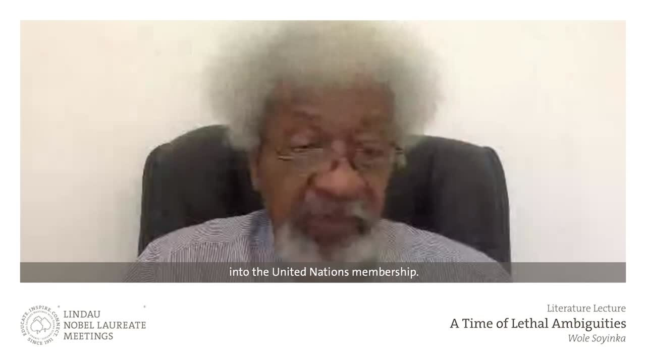 Wole Soyinka (2020) - A Time of Lethal Ambiguities