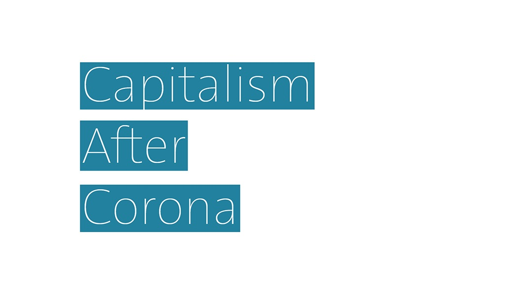 Online Sciathon Results: Capitalism after Corona (2020) - Watch the three finalists presenting their projects on capitalism after corona