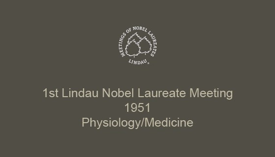 1st Lindau Nobel Laureate Meeting (1951)