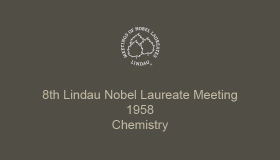 8th Lindau Nobel Laureate Meeting (1958)