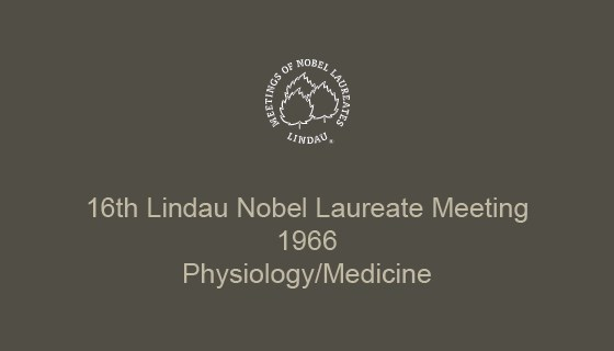 16th Lindau Nobel Laureate Meeting (1966)