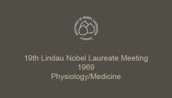 19th Lindau Nobel Laureate Meeting (1969)