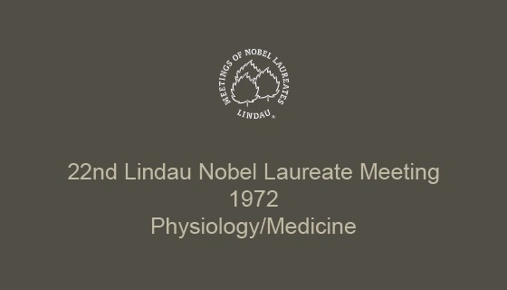 22nd Lindau Nobel Laureate Meeting (1972)