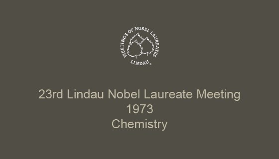 23rd Lindau Nobel Laureate Meeting (1973)