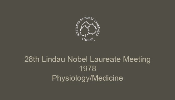 28th Lindau Nobel Laureate Meeting (1978)