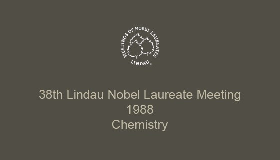 38th Lindau Nobel Laureate Meeting (1988)