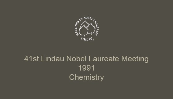 41st Lindau Nobel Laureate Meeting (1991)