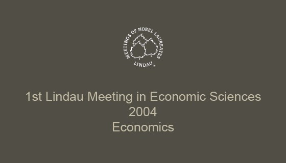 1st Lindau Meeting on Economic Sciences (2004)