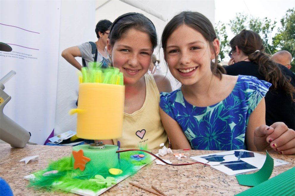 "During the so-called ""action days"" a wide variety of activities was offered for children.<br>"