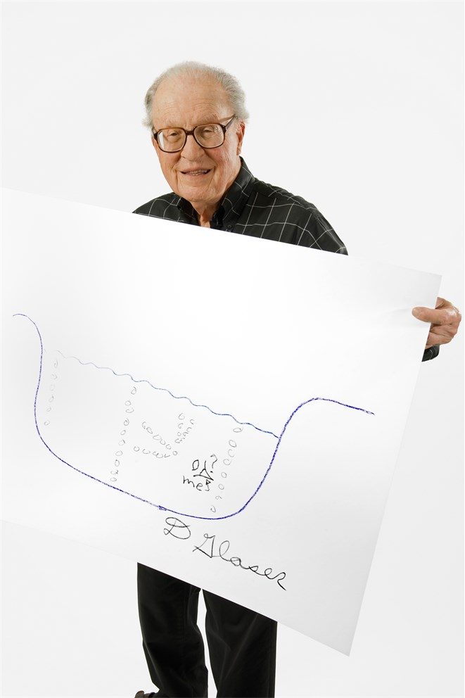 Donald Glaser's Sketch of Science