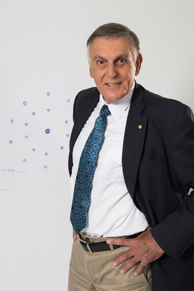 Dan Shechtman's Sketch of Science
