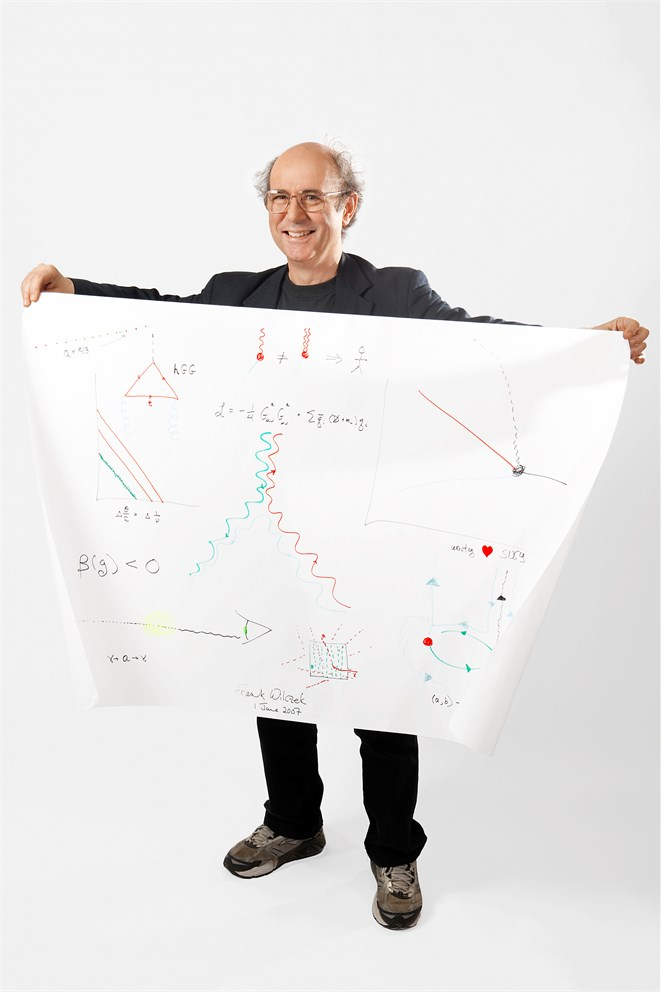 Frank Wilczek's Sketch of Science