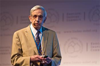 John Nash Jr. - John Nash Jr. (Laureate, Economic Sciences 1994) lecturing on 'Ideal Money and the Motivation of Savings and Thrift'