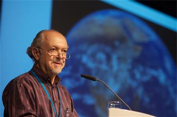 Mario Molina - Mario Molina lecturing on 'Energy and Climate Change - Is There a Solution?' (Laureate, Chemistry 1995)