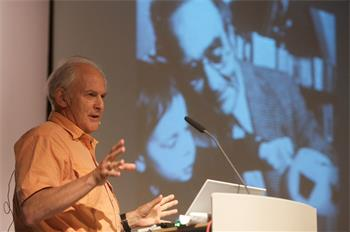 Sir Harold Kroto - Sir Harold Kroto lecturing on 'Science, Society & Sustainability' (Laureate, Chemistry 1996)