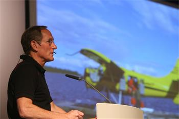 Peter Agre - Laureate Peter Agre (Chemistry 2003) delivers his lecture on 'Canoeing in the Artic, a Scientist's Perspective'.