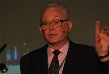 Sir Peter Mansfield - Sir Peter Mansfield (Laureate, Physiology/Medicine 2003) lecturing on 'Real Time MRI: Eco-Planar Imaging'