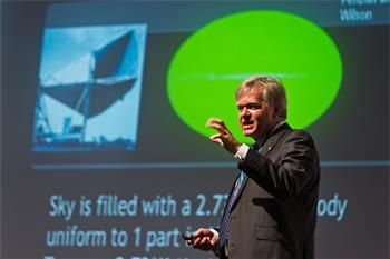 Brian Schmidt - Brian Schmidt (Laureate Physics, 2011) lecturing on 'Observations, and the Standard Model of Cosmology'