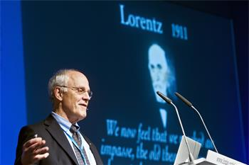 David Gross - Lecture: 'A Century of Quantum Mechanics' by Laureate David Gross (Physics, 2004)