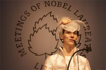59th Lindau Nobel Laureate Meeting, 2009 - Opening of the Meeting by Countess Bettina Bernadotte