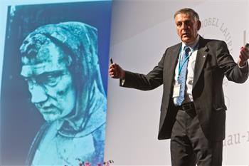 62nd Lindau Nobel Laureate Meeting, 2012 - Dan Shechtman during the 62nd Meeting.