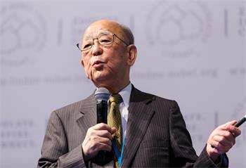 63rd Lindau Nobel Laureate Meeting, 2013 - Laureate Akira Suzuki at the 63rd Meeting.