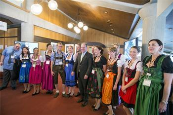 63rd Lindau Nobel Laureate Meeting, 2013 - State Minister Dr. Wolfgang Heubisch attending the Bavarian Evening.