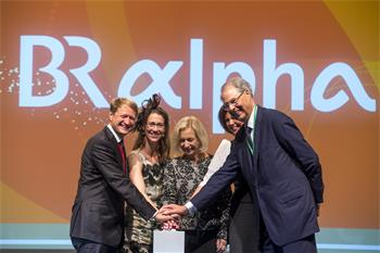 Opening Ceremony, 2014 - Ulrich Wilhelm, Countess Bettina Bernadotte, Johanna Wanka, Isle Aigner and Wolfgang Schürer launch ARD alpha.
