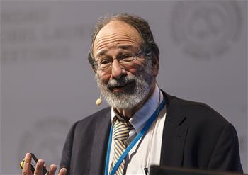 Alvin E. Roth - Alvin E. Roth delivering his lecture 'Repugnant Markets and Prohibited Transactions' at the 5th Lindau Nobel Laureate Meeting on Economic Sciences.