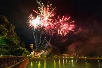 65th Lindau Nobel Laureate Meeting - Impressive fireworks at the Summer Festival of Science.