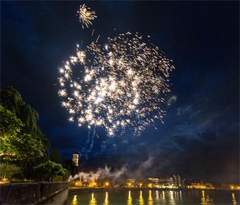65th Lindau Nobel Laureate Meeting - Impressive fireworks at the 65th Lindau Nobel Laureate Meeting.