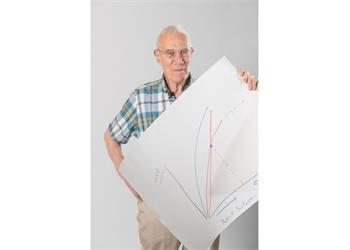 Robert Solow - Robert Solow with his 'Sketch of Science'