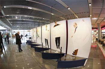 Sketches of Science - Sketches of Science exhibition at Frankfurt Airport.