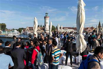 Boat Trip - Boat trip to Mainau at the 66th Lindau Nobel Laureate Meeting.