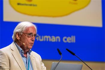 John Walker - John Walker presenting his lecture at the 67th Lindau Nobel Laureate Meeting