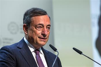 Mario Draghi - Mario Draghi delivering his keynote adress at the opening ceremony
