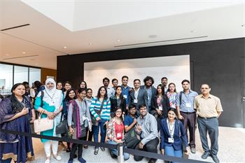 68th Lindau Nobel Laureate Meeting - Young scientists at the 68th Lindau Nobel Laureate Meeting