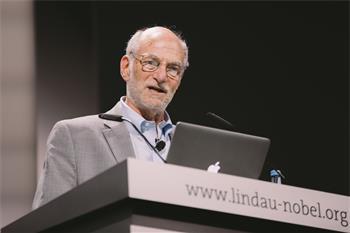 Michael Rosbash - Michael Rosbash holding his lecture on 'The Circadian Rhythm Story: Past, Present and Future'
