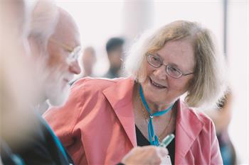 Elizabeth Blackburn - Elizabeth Blackburn at the 68th Lindau Nobel Laureate Meeting