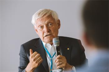 Joachim Frank - Joachim Frank at the 68th Lindau Nobel Laureate Meeting